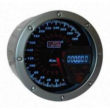 AUTO GAUGE spidometrs 95mm 0-300km/h