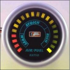 AUTO GAUGE degvielas maisījuma mērītājs BLACK